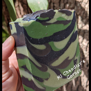camouflage-soap